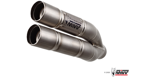 Mivv DOUBLE GUN TITANIUM for DUCATI MULTISTRADA 1200 ENDURO 2016 >