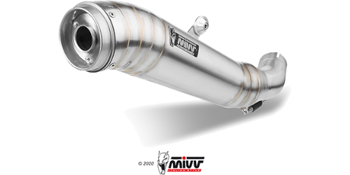 Mivv GHIBLI STAINLESS STEEL for DUCATI SCRAMBLER 800 2015 > 2016