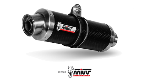 Mivv GP CARBONIO per DUCATI MONSTER 1100 2008 > 2010