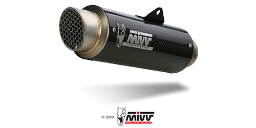 Mivv GP PRO CARBON for KAWASAKI Z 125 2019 > 2020