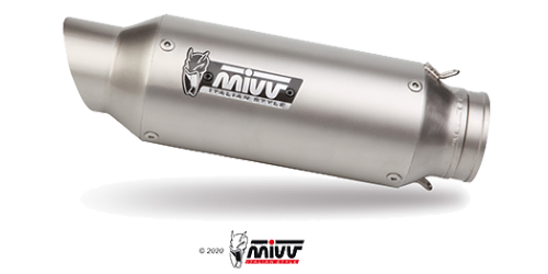 Mivv M2 STAINLESS STEEL for KTM 125 DUKE 2011 > 2016