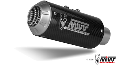 Mivv MK3 CARBON for KAWASAKI Z 125 2019 > 2020