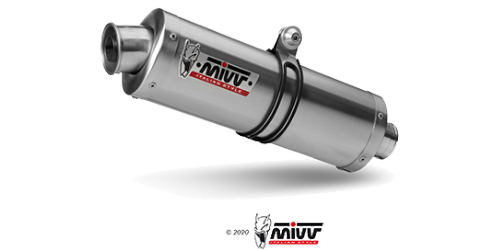 Mivv OVAL STAINLESS STEEL for CAGIVA RAPTOR 650 2001 > 2007