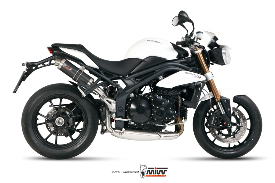 Scarico TRIUMPH SPEED TRIPLE Mivv Gp Carbonio AT.012.L2S