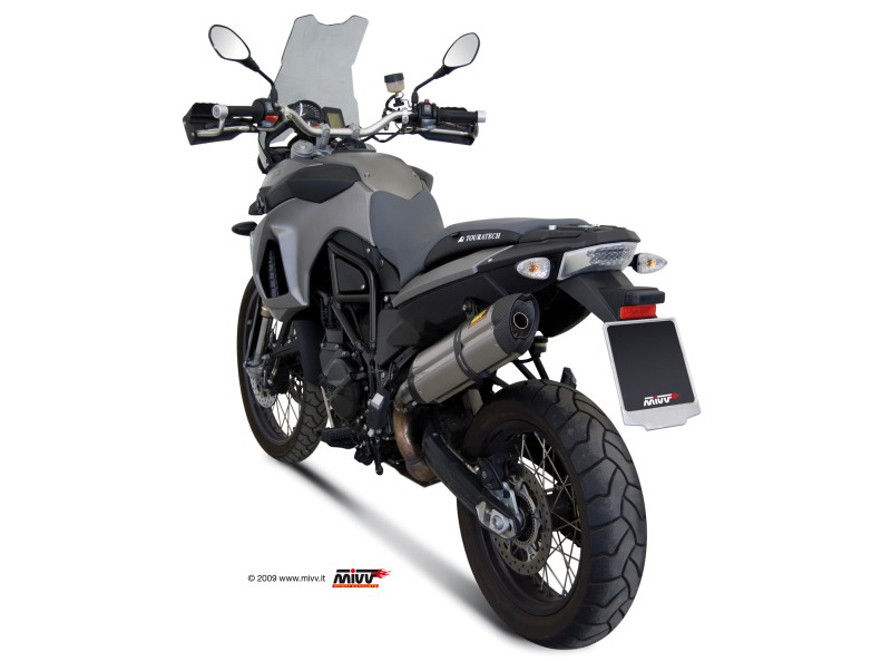BMW F 800 GS Exhaust Mivv Suono Stainless steel B.007.L7