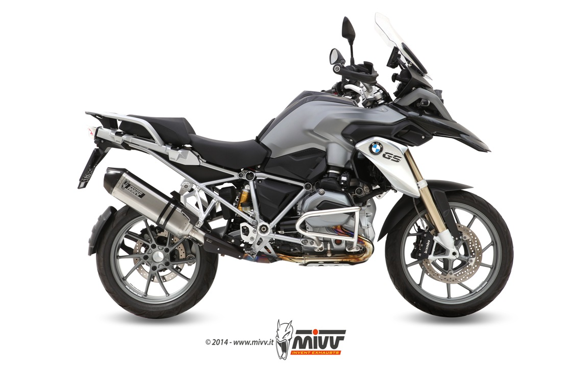 Escape BMW R 1200 GS Mivv Speed Edge Inox B.016.LRX