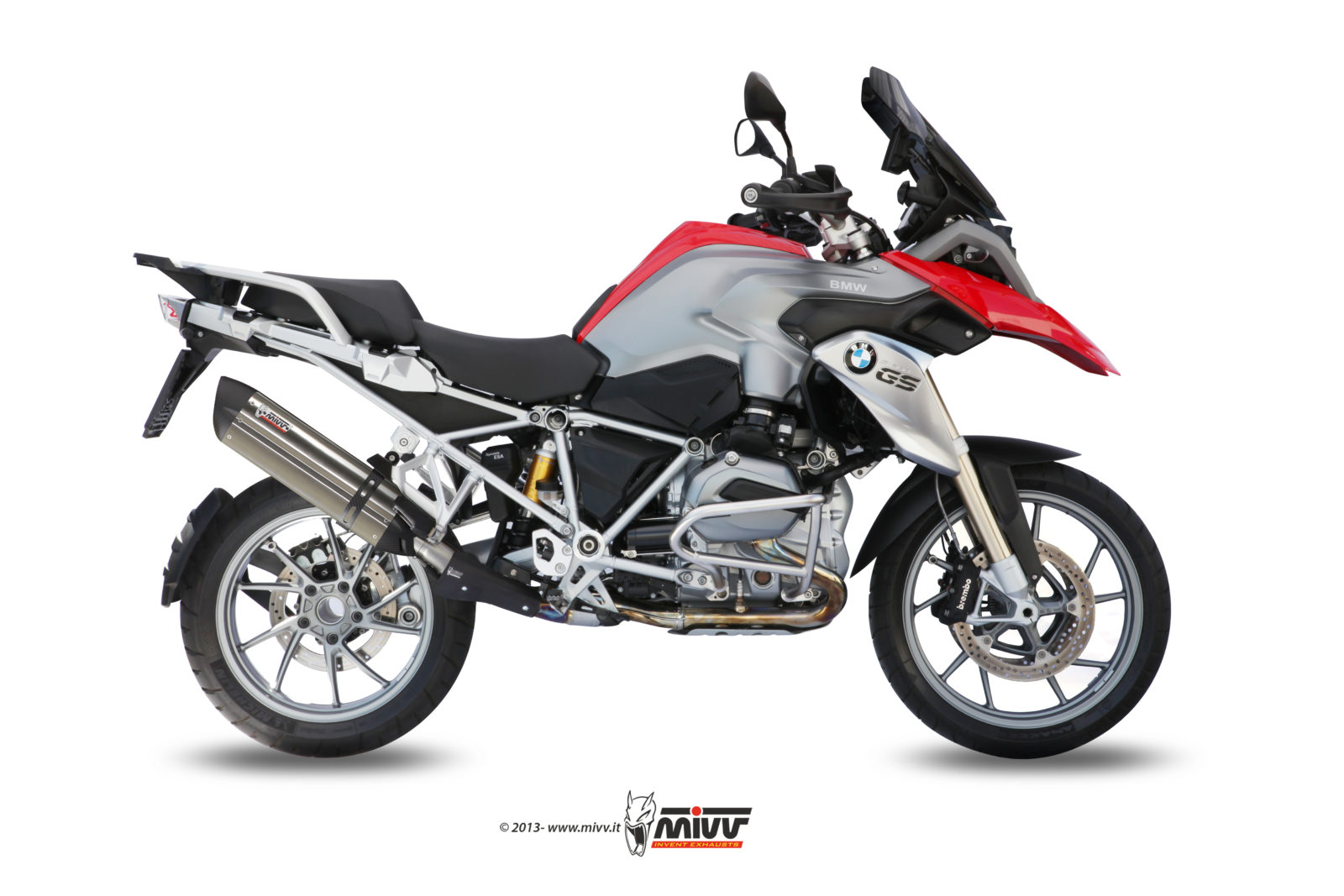 BMW R 1200 GS Exhaust Mivv Suono Stainless steel B.016.L7