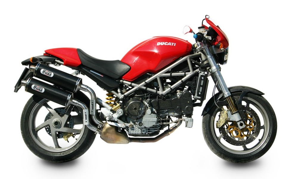 Escape DUCATI MONSTER S2R 1000 Mivv Oval Carbono D.011.L3