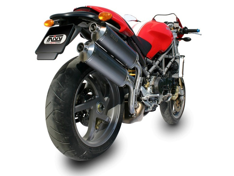 Escape DUCATI MONSTER S2R 1000 Mivv Oval Titanio D.011.L4