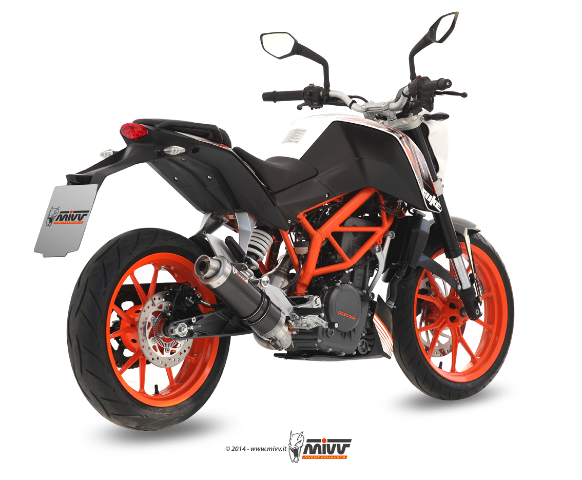 scarico ktm 390 duke mivv gp inox nero mivv. Black Bedroom Furniture Sets. Home Design Ideas