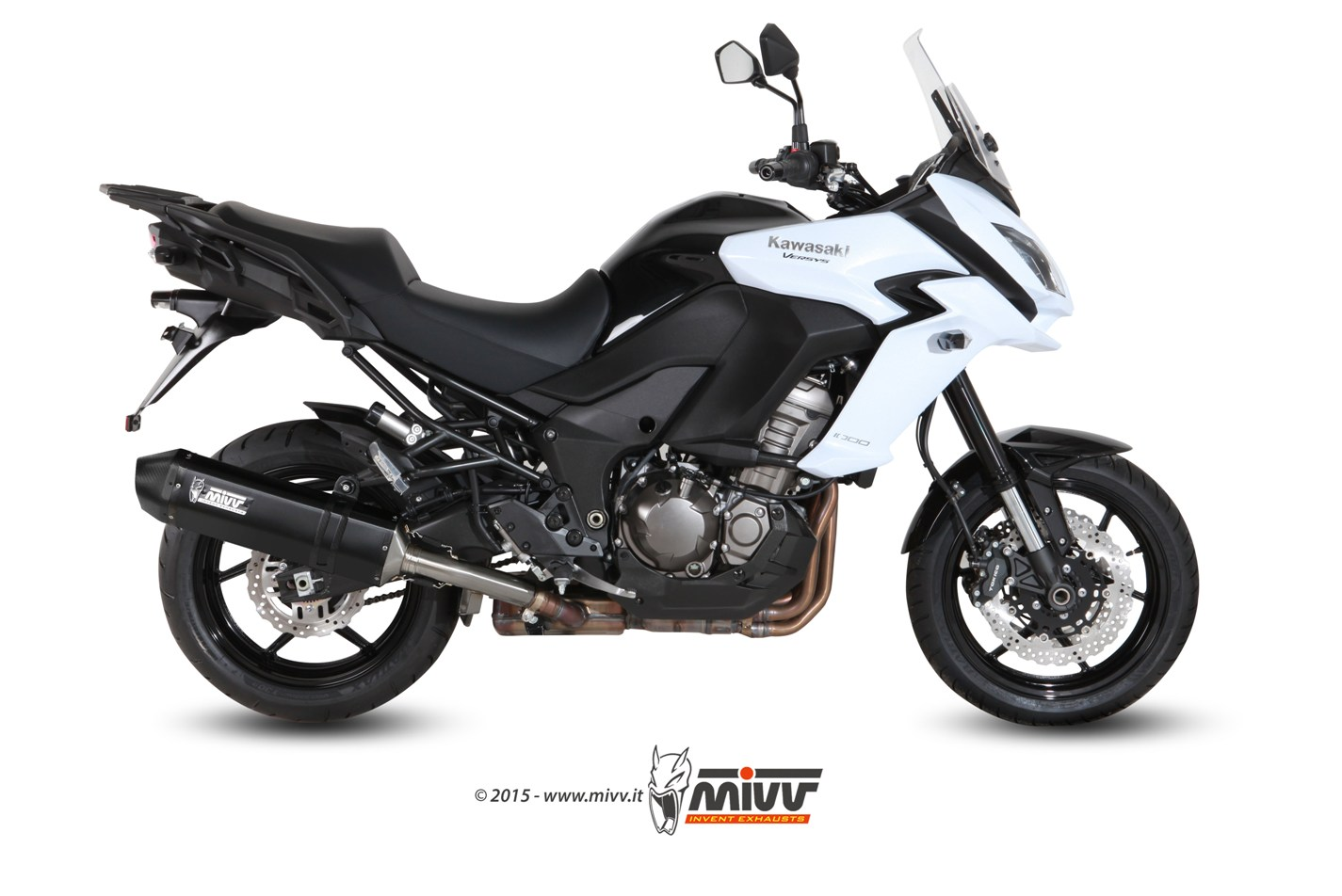 Escape KAWASAKI VERSYS 1000 Mivv Speed Edge Inox negro K.040.LRB