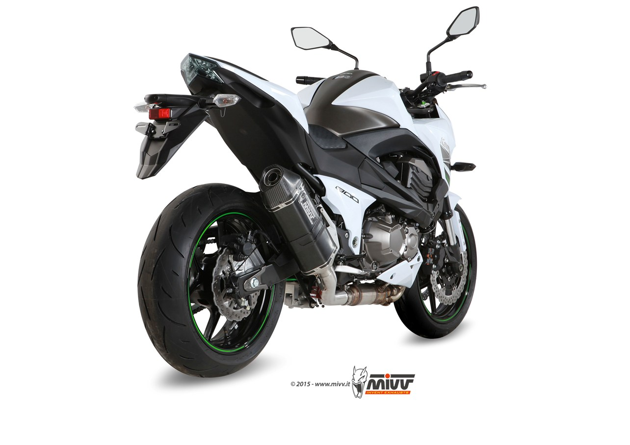 Escape KAWASAKI Z 800 Mivv Speed Edge Inox negro K.032.LRB