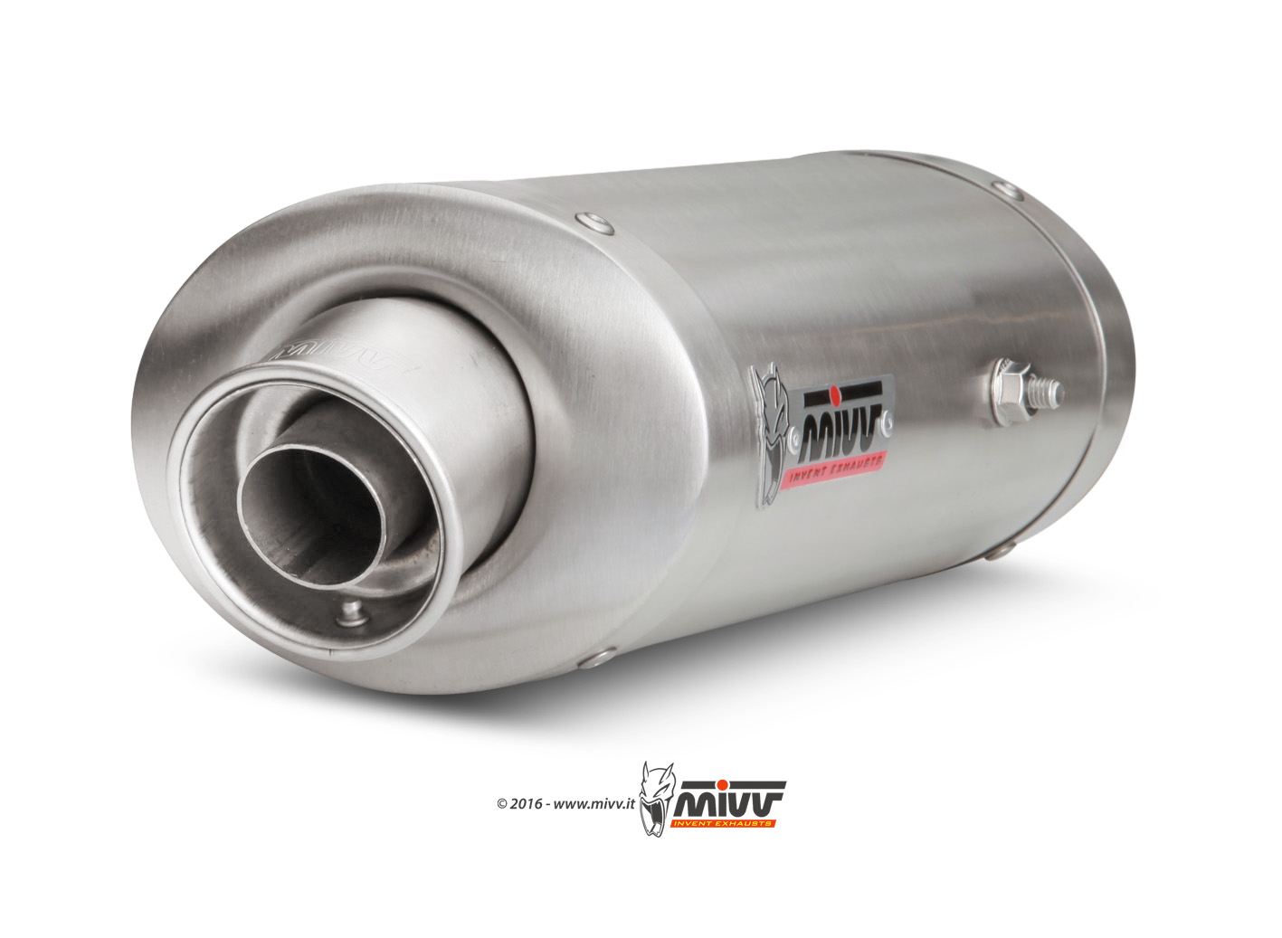 Honda CBR 600 RR Exhaust Mivv Oval Stainless steel UH.027.LX2