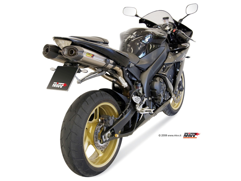 YAMAHA YZF 1000 R1 Exhaust Mivv Suono Stainless steel UY 016 L7 - Mivv