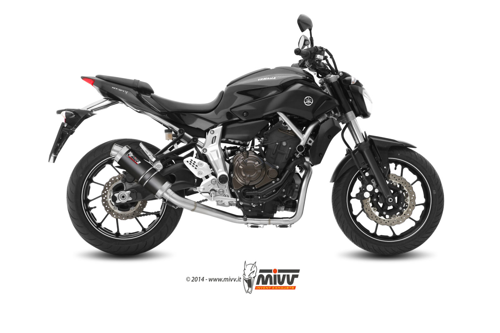 YAMAHA MT-07 Exhaust Mivv Gp Carbon Y.045.L2S