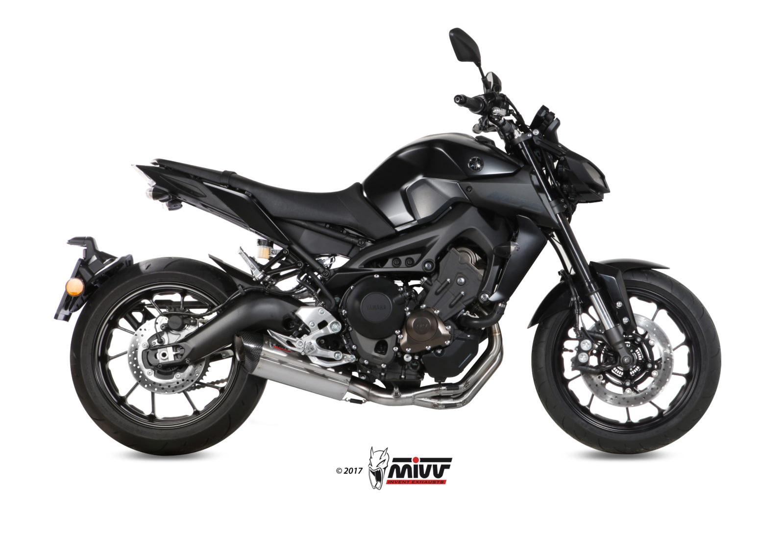YAMAHA MT-09 Exhaust Mivv Suono Stainless steel Y.042.L7