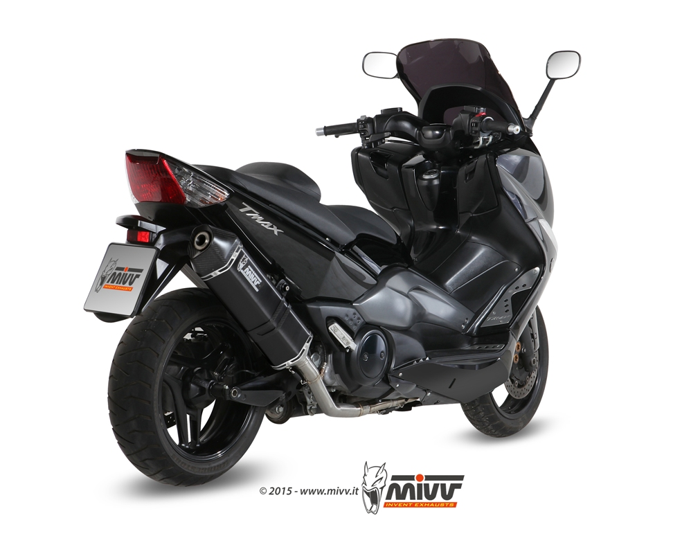 scarico yamaha t max 500 mivv speed edge inox nero mivv. Black Bedroom Furniture Sets. Home Design Ideas