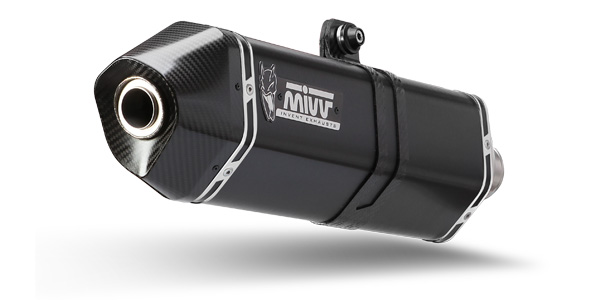 Mivv Speed Edge Black stainless steel exhaust