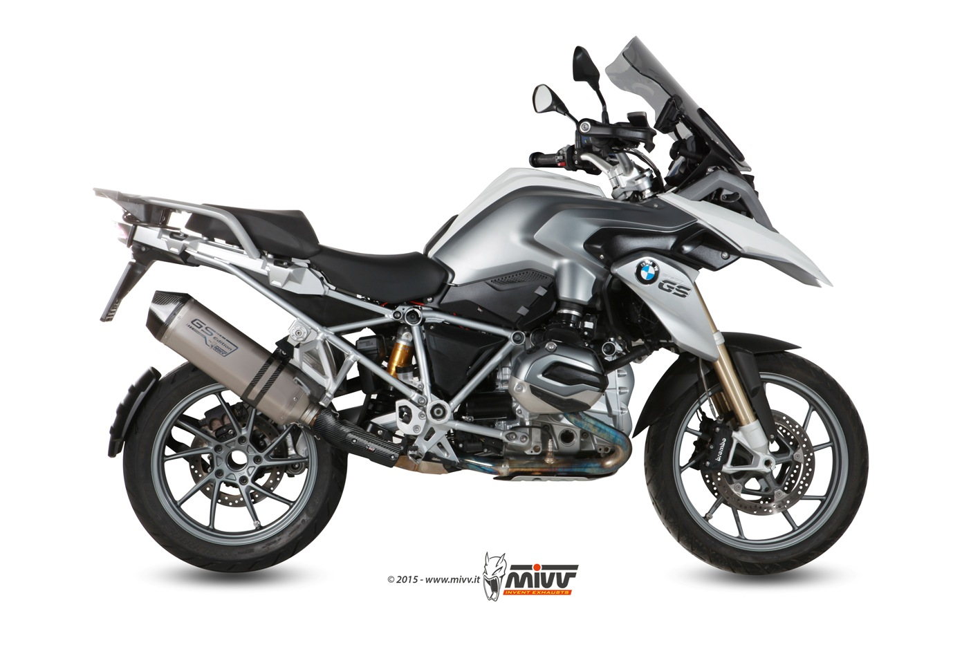 Mivv GS Titanium Edition per Bmw R 1200 GS