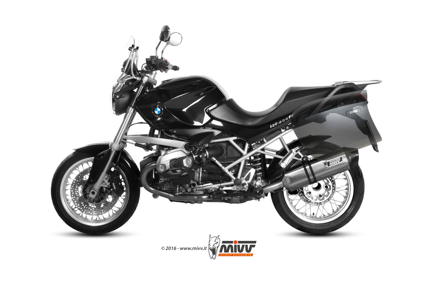 bmw r 1200 r exhaust mivv speed edge stainless steel mivv. Black Bedroom Furniture Sets. Home Design Ideas
