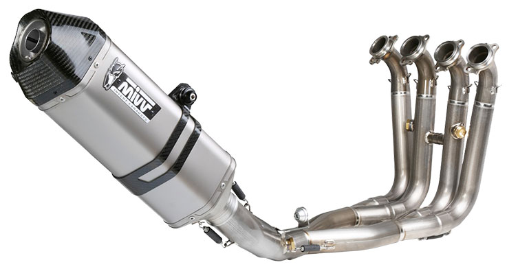 Mivv Steel full exhaust system