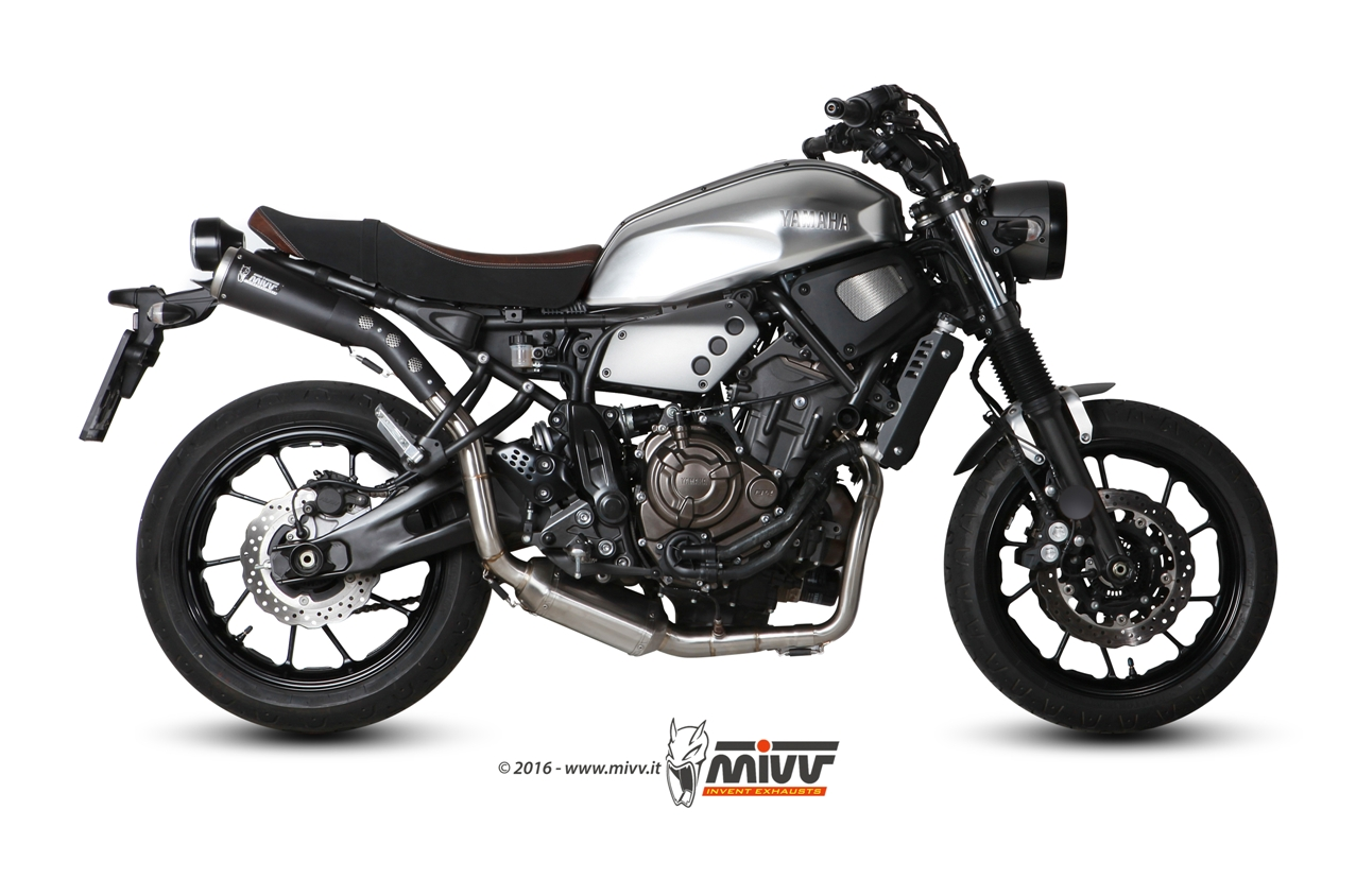 mivv exhausts for yamaha xsr 700. Black Bedroom Furniture Sets. Home Design Ideas