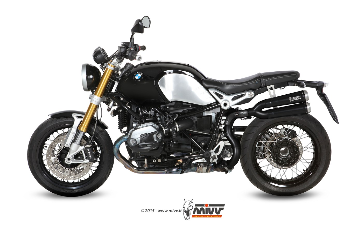 Mivv X cone Black per BMW R nine T