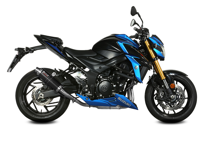 new exhausts for suzuki gsx s 750 mivv. Black Bedroom Furniture Sets. Home Design Ideas
