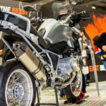 Mivv GS Titanium on BMW R 1200 GS