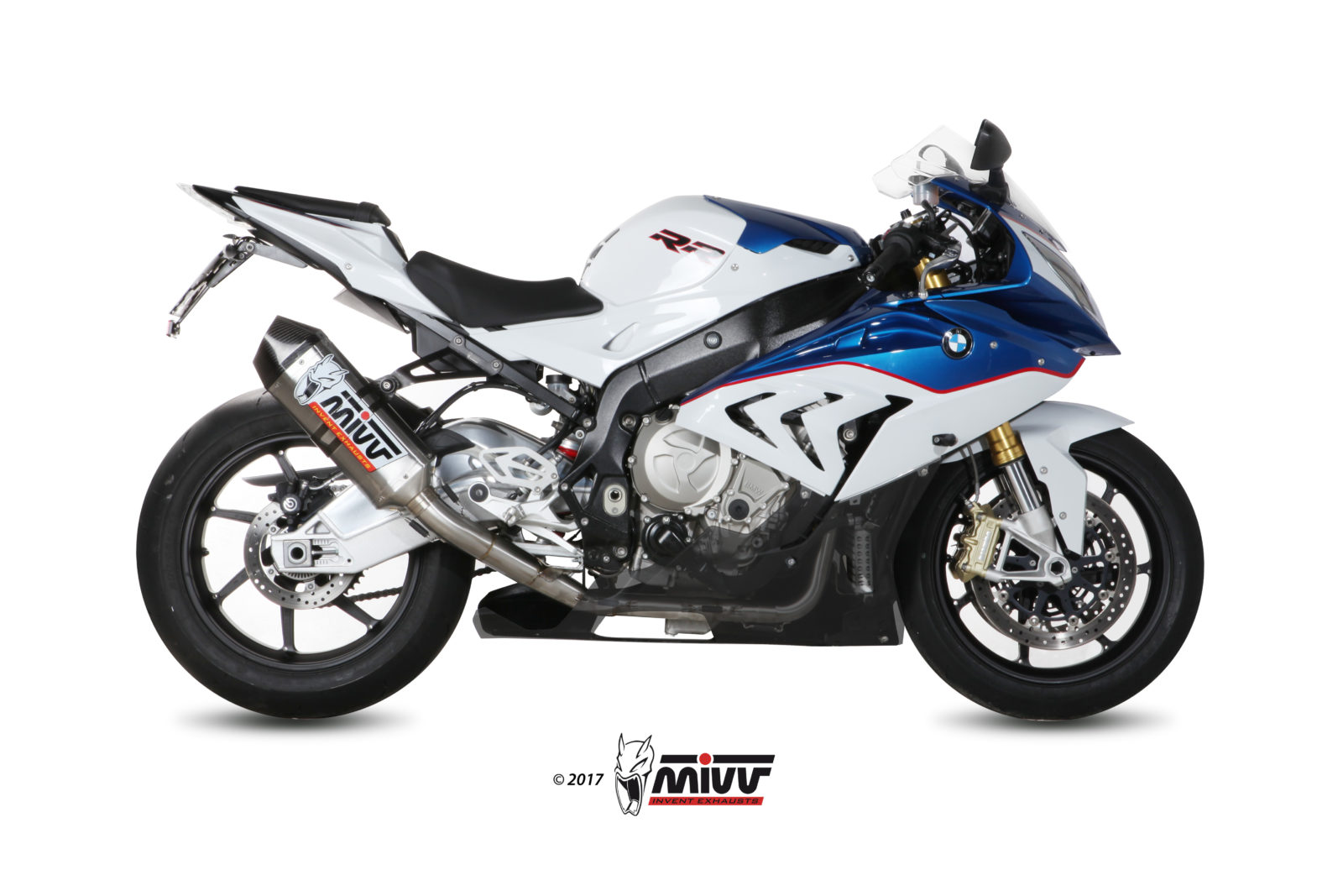 Scarico BMW S 1000 RR Mivv Speed Edge Titanio R.BW.0003.SRT