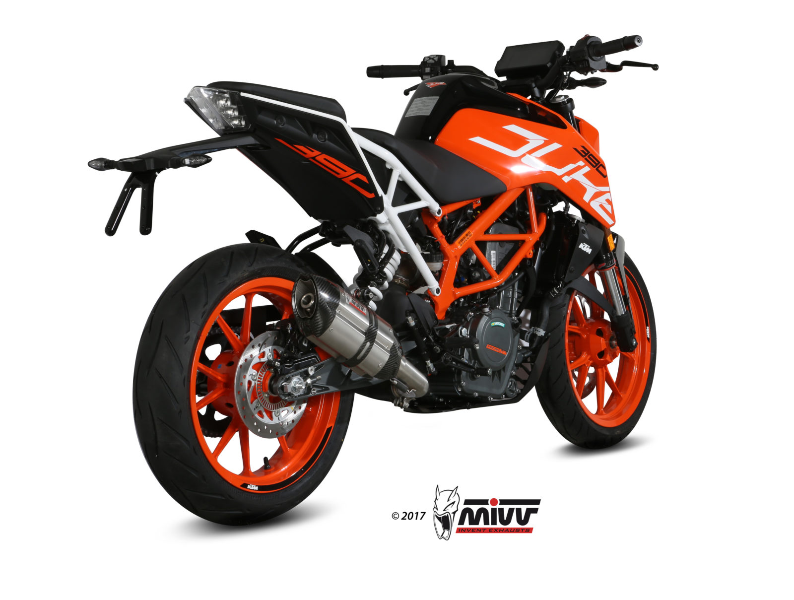 auspuff ktm 390 duke mivv suono edelstahl mivv. Black Bedroom Furniture Sets. Home Design Ideas