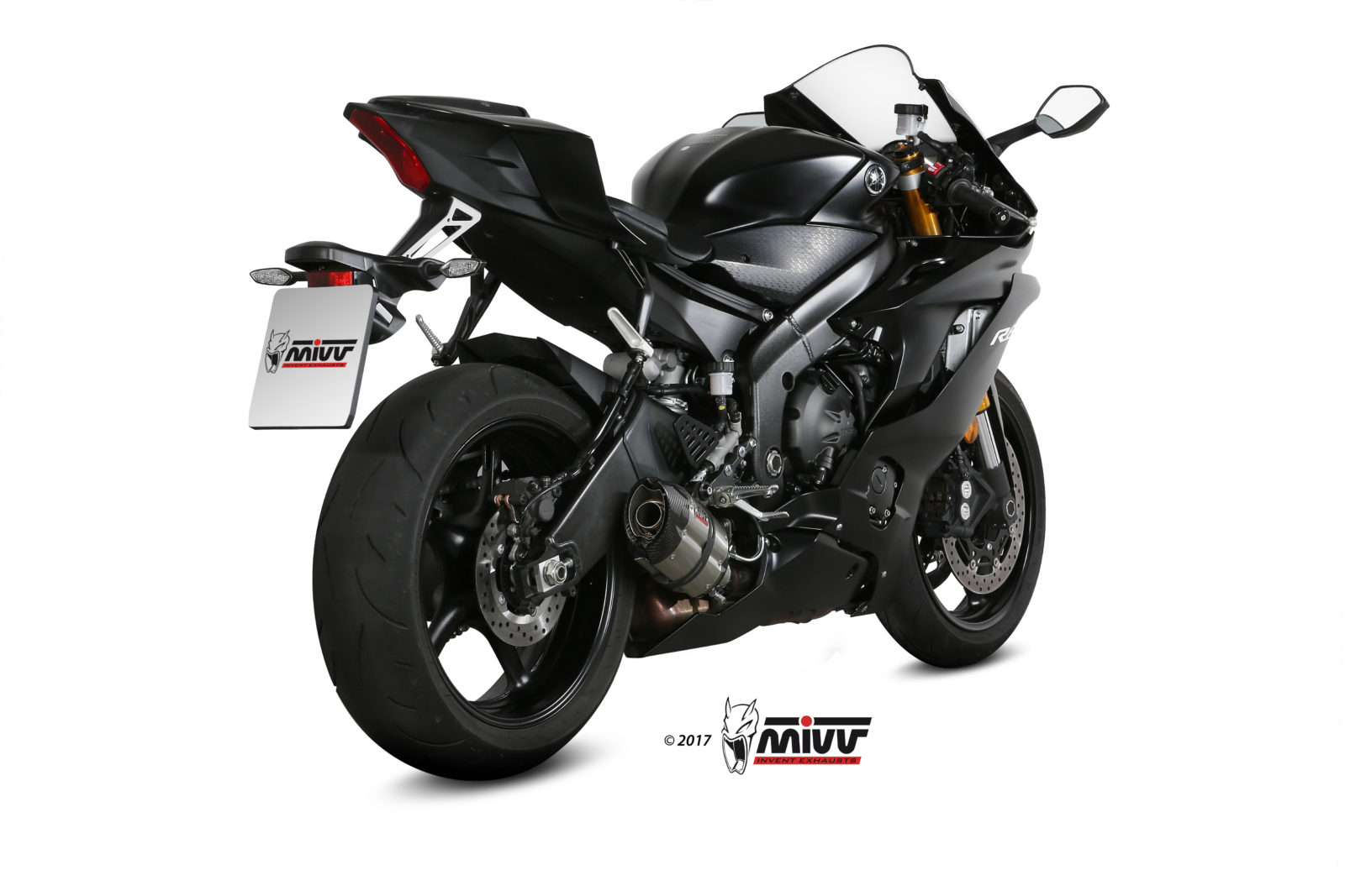 YAMAHA YZF 600 R6 Exhaust Mivv Suono Stainless steel Y.063.L7