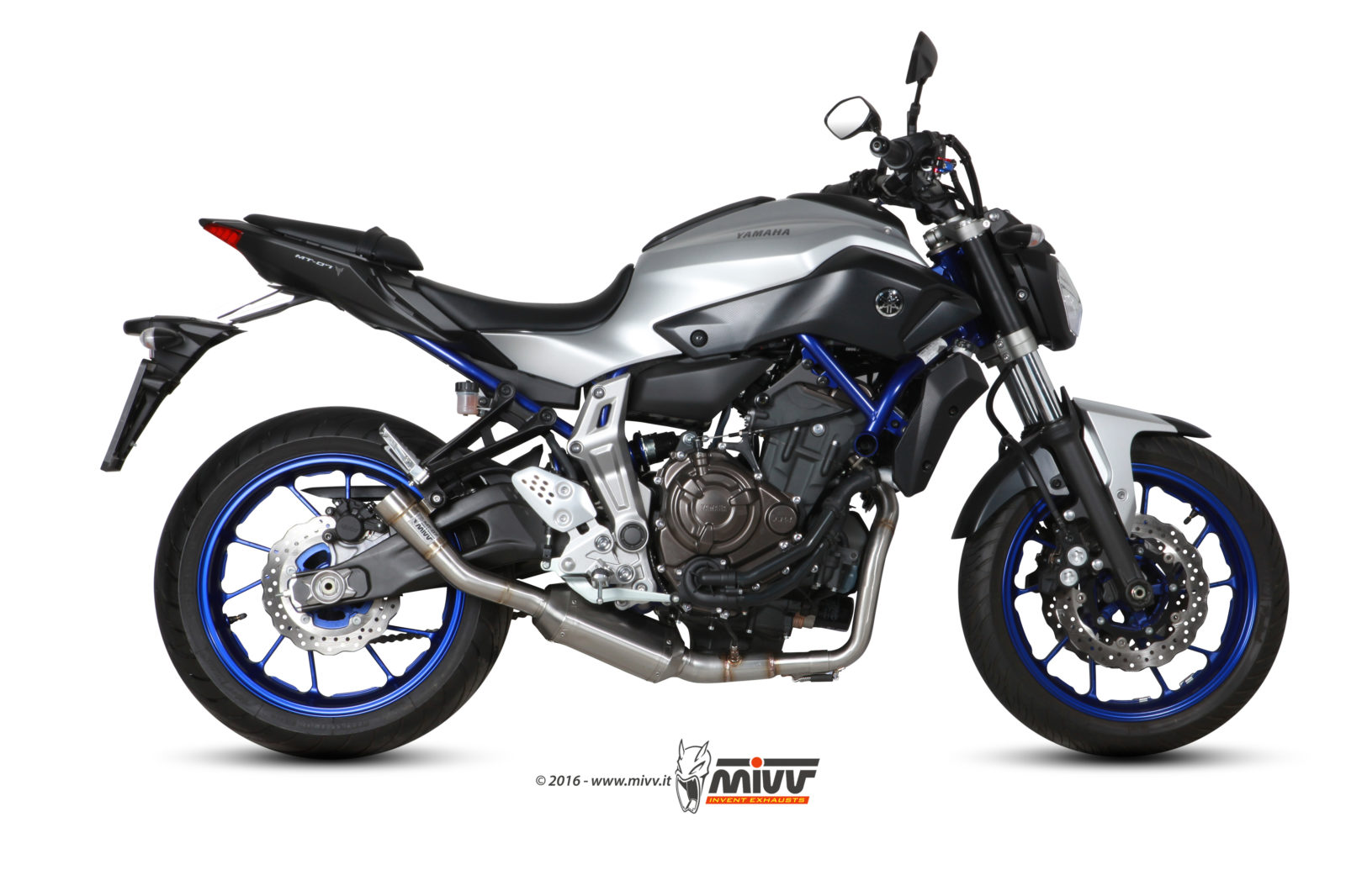 YAMAHA MT-07 Exhaust Mivv Speed Edge Stainless steel Y.046.LHX