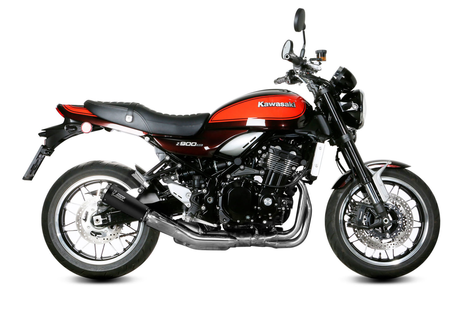mivv exhausts for kawasaki z 900 rs mivv. Black Bedroom Furniture Sets. Home Design Ideas