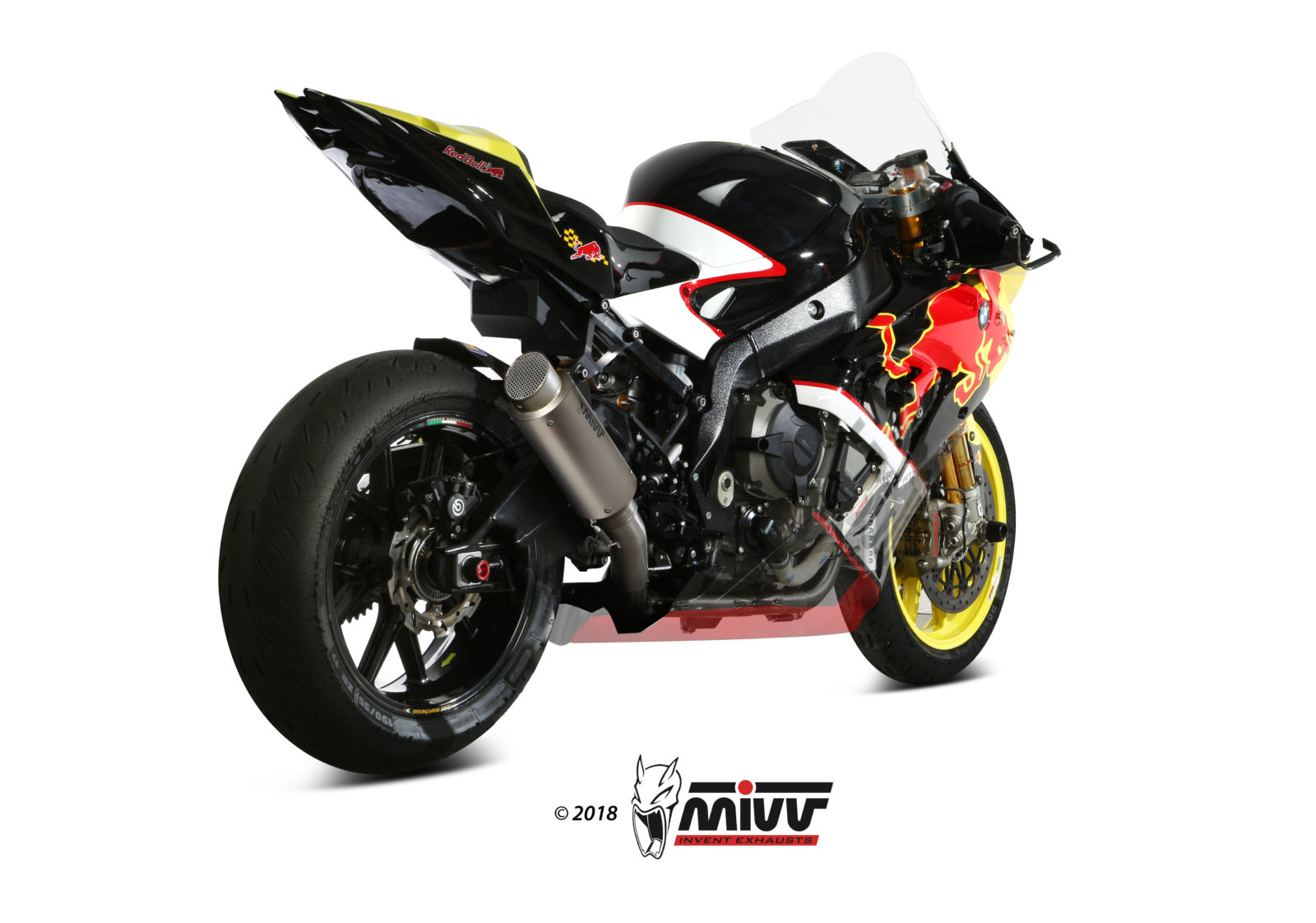 BMW S 1000 RR Exhaust Mivv GP PRO Stainless steel X.BW.0004.S6P