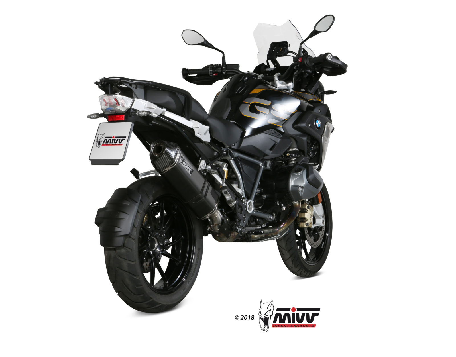 Escape BMW R 1250 GS Mivv Speed Edge Inox negro B.034.LRB