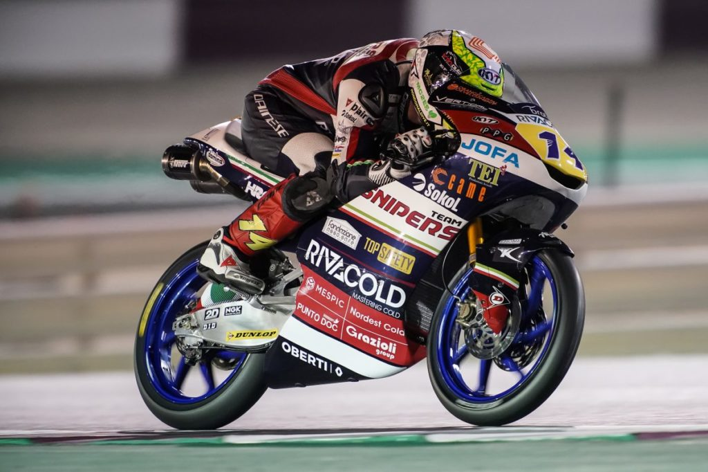 Moto3   Qatar: the Snipers Team drivers mocked by adversity
