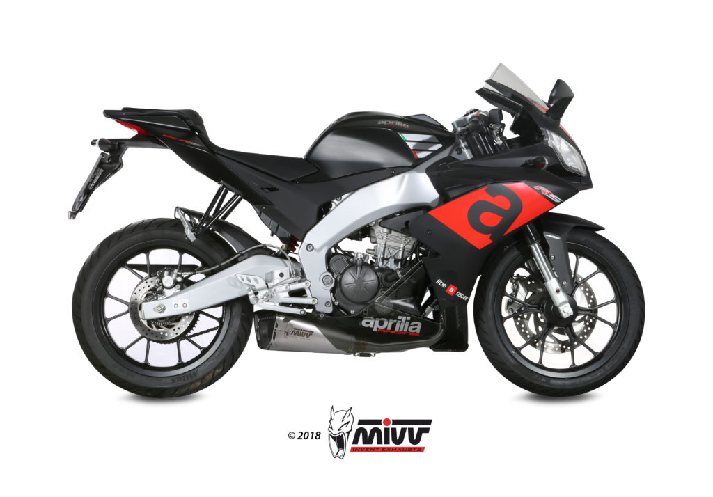 APRILIA RS 125 Exhaust Mivv Delta Race Stainless steel A.011.LDRX
