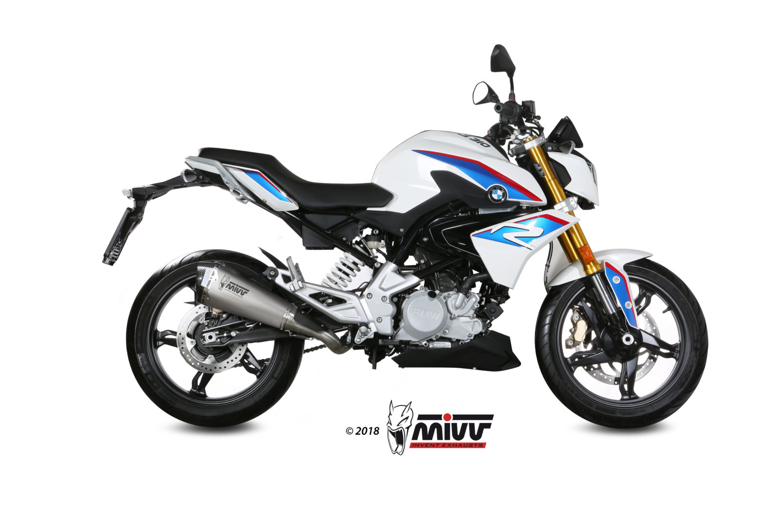 BMW G 310 R Exhaust Mivv Delta Race Stainless steel B.032.LDRX