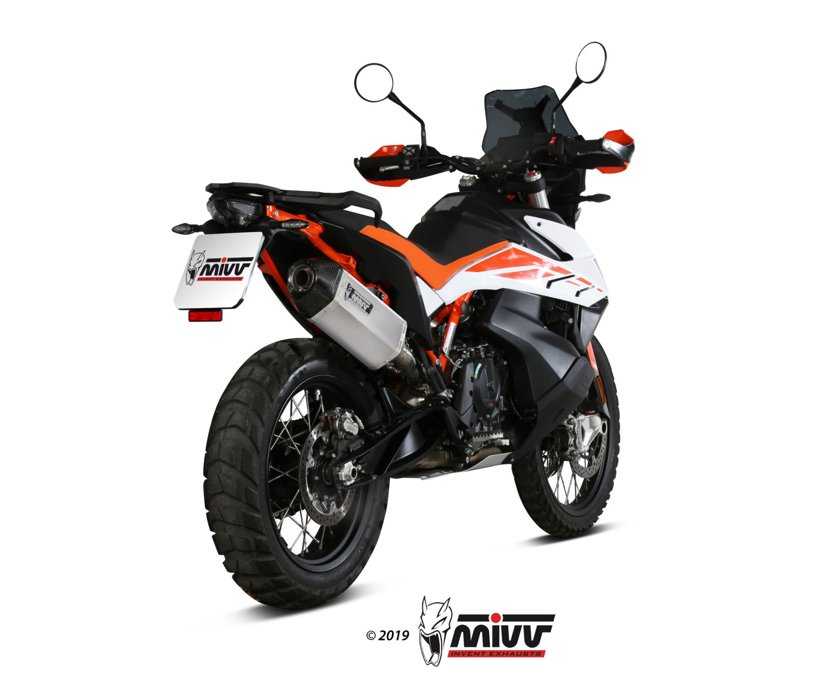 Scarico KTM 890 ADVENTURE / R Mivv Speed Edge Inox KT.021.LRX