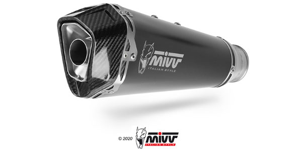 Mivv Delta Race Black exhaust
