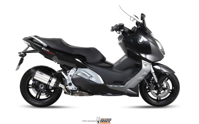 Scarico Mivv Speed Edge per scooter Bmw C 600 Sport