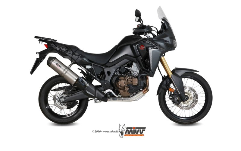 Scarico Mivv Oval per Honda CRF1000L AFRICA TWIN 2016