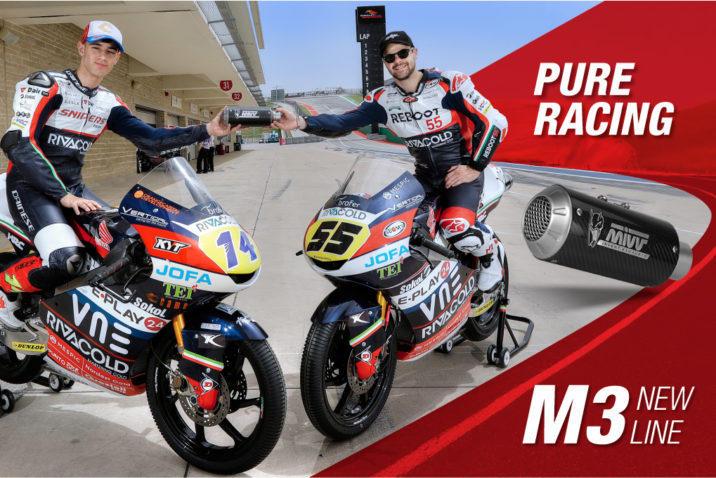 Toni Arbolino and Romano Fenati with M3 exhaust